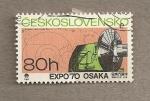 Stamps Czechoslovakia -  Expo Osaka