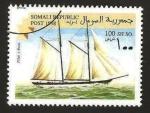 Stamps Somalia -  barco a vela