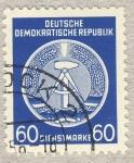 Sellos de Europa - Alemania -  DDR Diensmarke