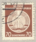 Stamps Germany -  DDR Diensmarke