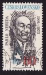 Sellos de Europa - Checoslovaquia -  Pablo Neruda