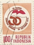 Stamps of the world : Indonesia :  SUMPAH PEMUDA