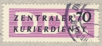 Stamps Europe - Germany -  DDR Zentraler Kurierdienst