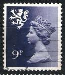 Sellos de Europa - Reino Unido -  Isabel II y León rampante.