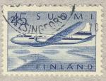 Sellos de Europa - Finlandia -  Avion