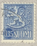 Stamps Finland -  escudo