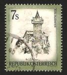 Sellos del Mundo : Europa : Austria : castillo de falkenstein carinthie