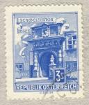 Sellos del Mundo : Europa : Austria : Schweizertor Wien