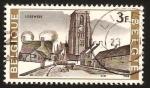 Stamps Belgium -  iglesia de lissewege