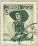 Stamps Austria -  Tirol Pustertal