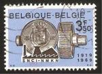 Sellos del Mundo : Europa : Bélgica : sociedad nacional de credito a la industria