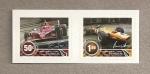 Stamps New Zealand -  Campeonatos mundiales automovilismo
