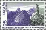 Stamps Spain -  ESPAÑA 1991 3146 Sello Nuevo Parque Nacional de Garajonay La Gomera