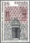 Sellos de Europa - España -  ESPAÑA 1991 3147 Sello Nuevo Patrimonio de la Humanidad Casa de las Conchas Salamanca