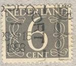 Sellos de Europa - Holanda -  valor