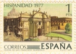 Stamps Spain -  Iglesia de San Francisco