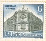 Stamps Spain -  Fachada del Banco de España.