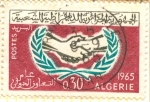 Stamps Algeria -  Año de Cooperación Internacional.