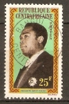 Stamps Central African Republic -  PRESIDENTE  DAVID  DACKO