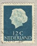 Stamps Netherlands -  Juliana I de los Países Bajos