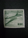 Stamps America - Chile -  correo aereo - chile - mint