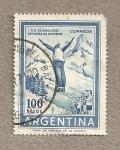 Stamps Argentina -  Deportes invierno S. C. Bariloche