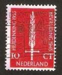 Stamps Netherlands -  633 - X Anivº de la Liberación