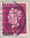 Stamps Netherlands -  Guillermina I de los Países Bajos
