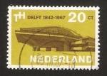 Sellos de Europa - Holanda -  delft 1842-1967