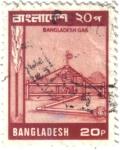 Sellos del Mundo : Asia : Bangladesh : Bangladesh. Explotación de gas