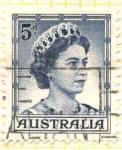 Sellos de Oceania - Australia -  Elizabeth II