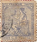 Stamps Europe - Spain -  ULTRAMAR 1871