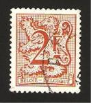 Stamps : Europe : Belgium :  leon heraldico