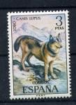 Sellos de Europa - España -  lobo
