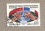 Stamps Russia -  Vuelo espacial franco-ruso