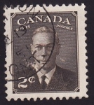 Stamps Canada -  Rey Jorge VI