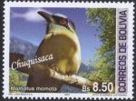 Stamps of the world : Bolivia :  Aves de Bolivia - Chuquisaca