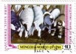 Stamps Mongolia -  Ovejas de Mongolia