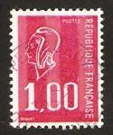 Stamps France -  1892 - Marianne de Bequet