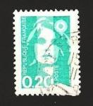 Stamps France -  marianne el bicentenario