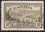 Stamps Canada -  Paisaje canadiense