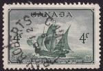 Stamps Canada -  Barco de Cabot arribo a Terranova 1497-1949