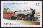 Stamps America - Cuba -  160 aniversario del ferrocarril en Cuba