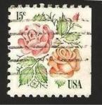 Sellos de America - Estados Unidos -  flora