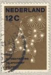 Sellos de Europa - Holanda -  1962 automatisering telefoonnet voltogid