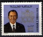 Sellos de Africa - Marruecos -  Rey Hassan II.