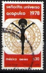 Stamps of the world : Mexico :  Concurso Miss Universo,  Acapulco 1978.