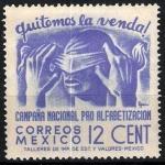 Sellos de America - México -  Campaña Nacional pro-alfabetización.