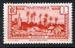 Stamps Europe - France -  Martinica. Ciudad de Basse Pointe.