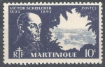 Stamps France -  Martinica. Victor Choelcher.